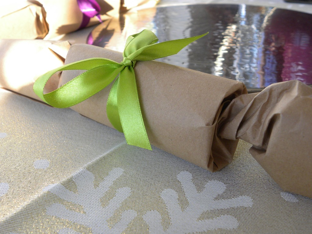 Handmade Christmas Cracker