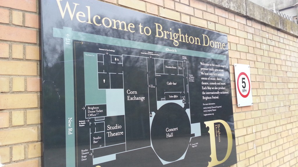 Brighton Dome Map - BrightonSEO 2014