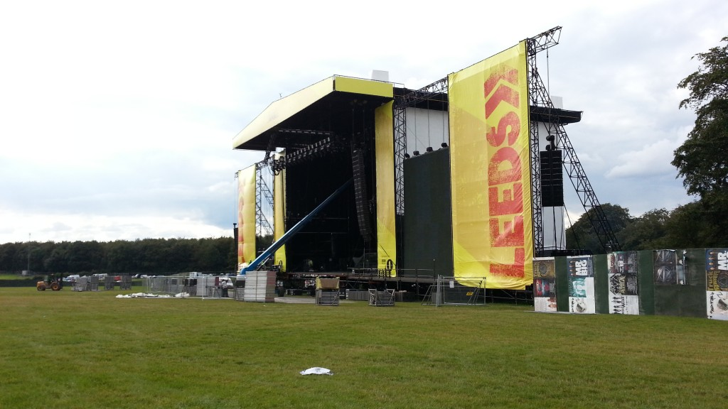 Leeds Festival Main Arena Stage 2014