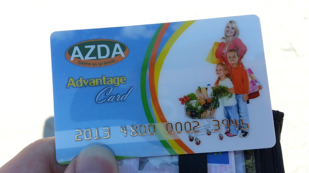 AZDA Card, Turkey