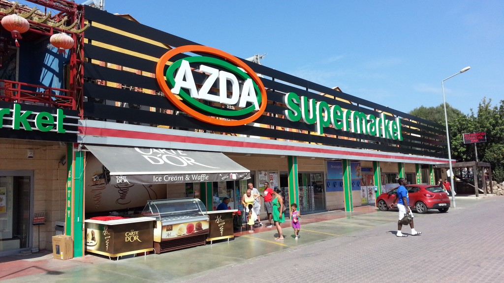 AZDA Supermarket, Hisaronu, Turkey