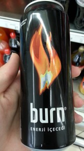 Burn Energy Drink, Turkey