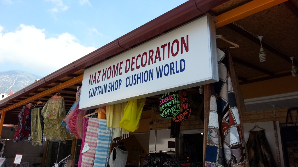Cushion World sign, Turkey