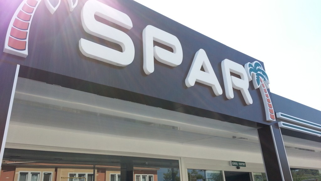 SPAR Shop, Hisaronu, Turkey