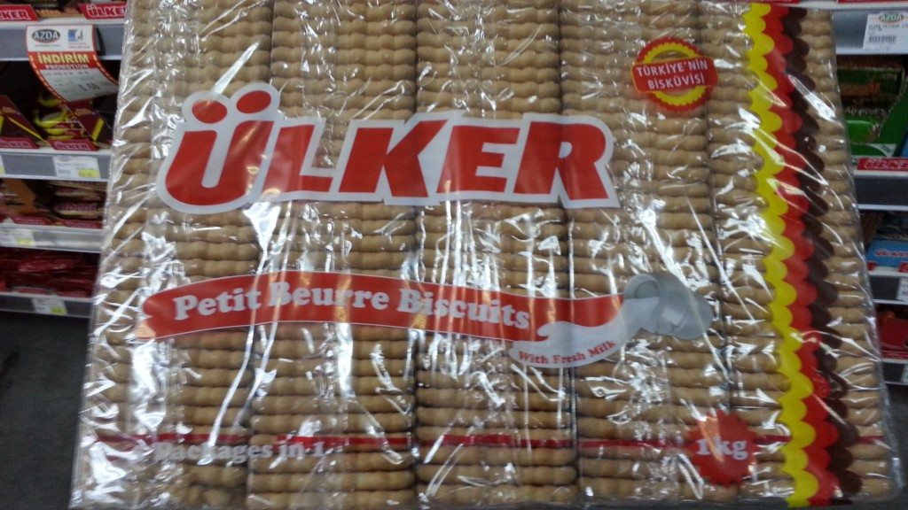 Ulker Petit Beurre Biscuits, Turkey