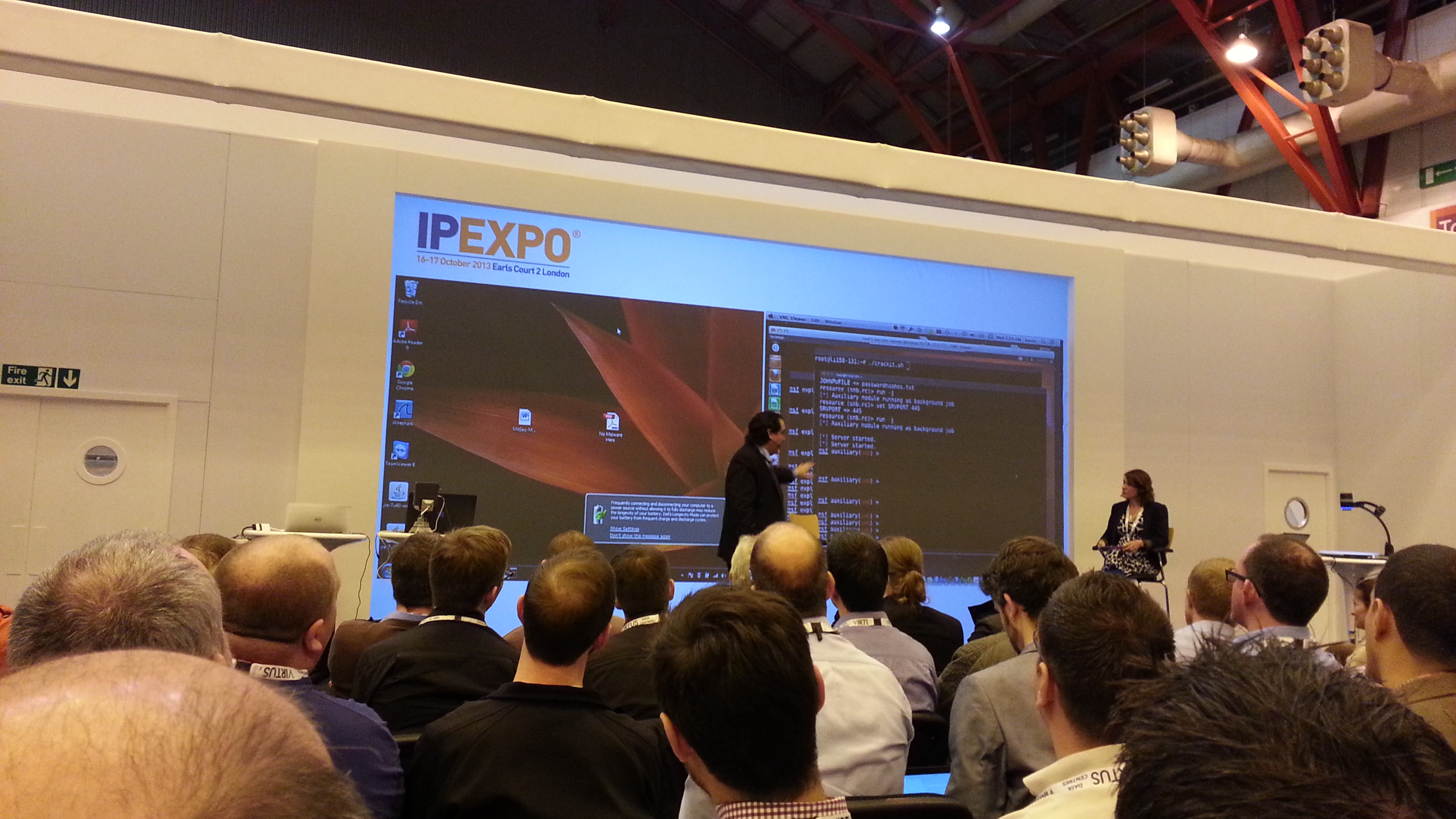 IP EXPO 2013 London kevin mitnick keynote
