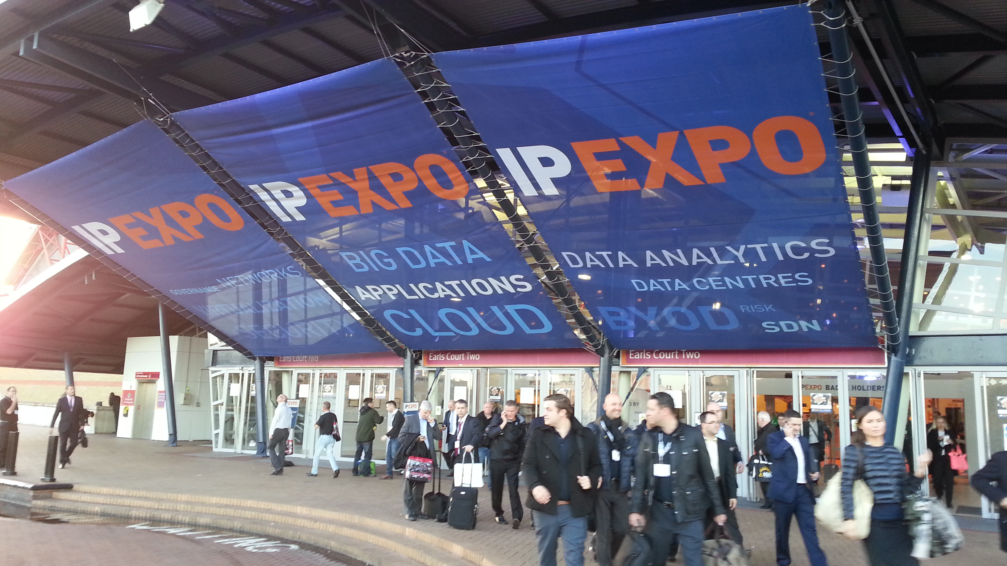 IP EXPO 2013 London earls court 2