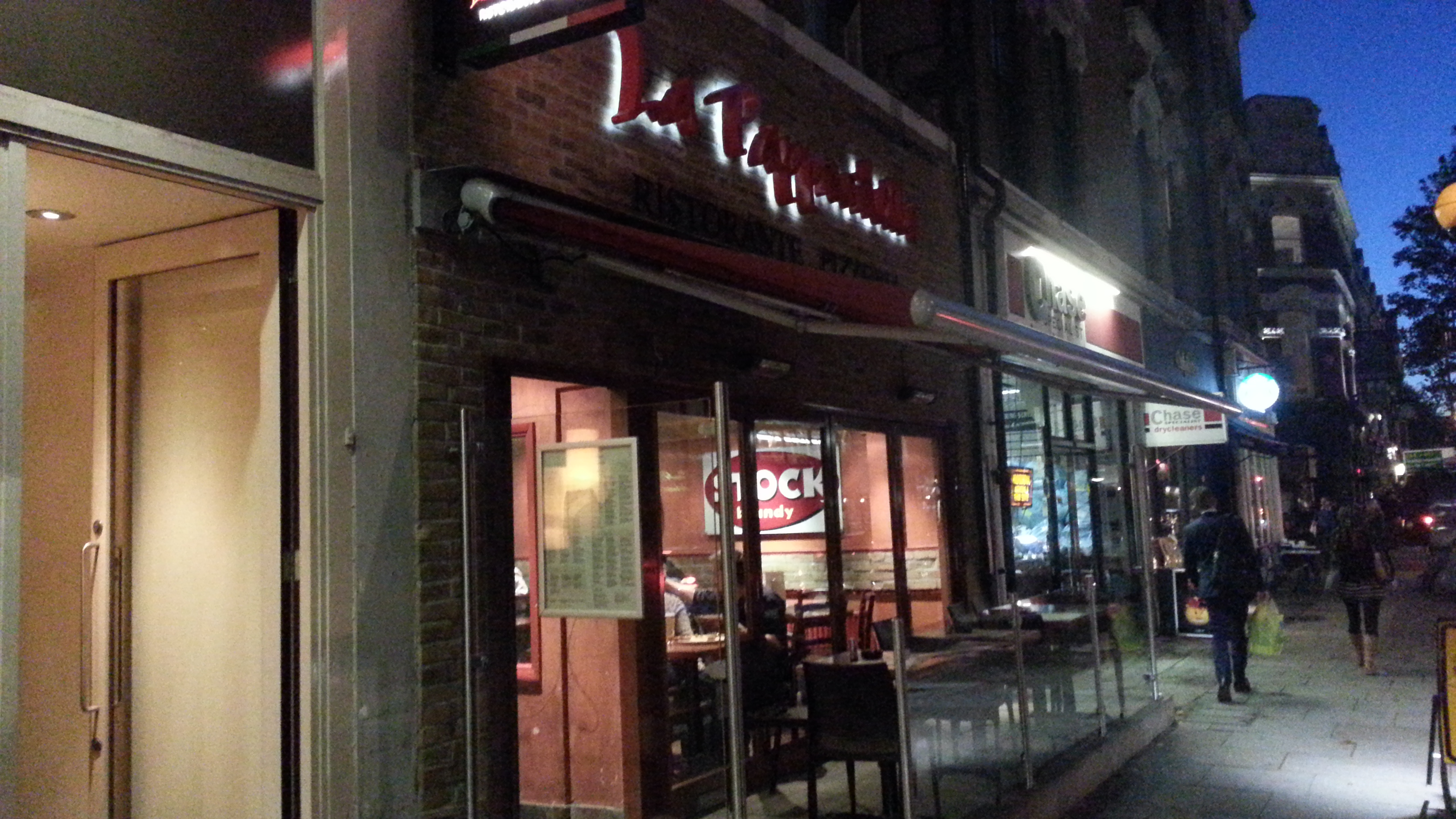 La Pappardella London outside
