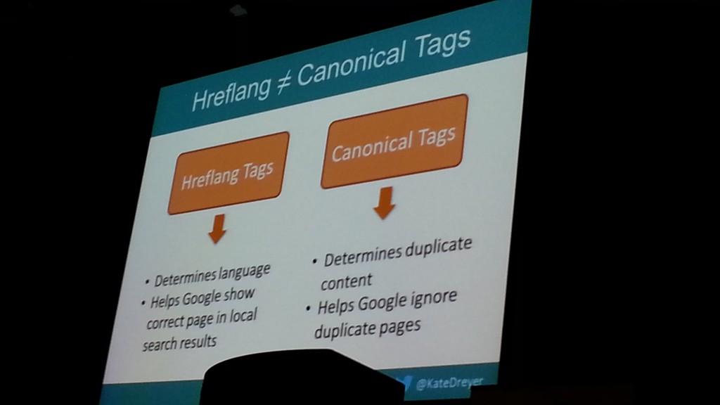 Hreflang vs Canonical Tags - BrightonSEO 2014