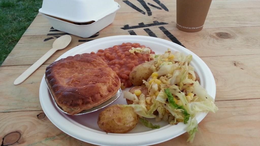 Leeds Festival 2014 Crew Catering food