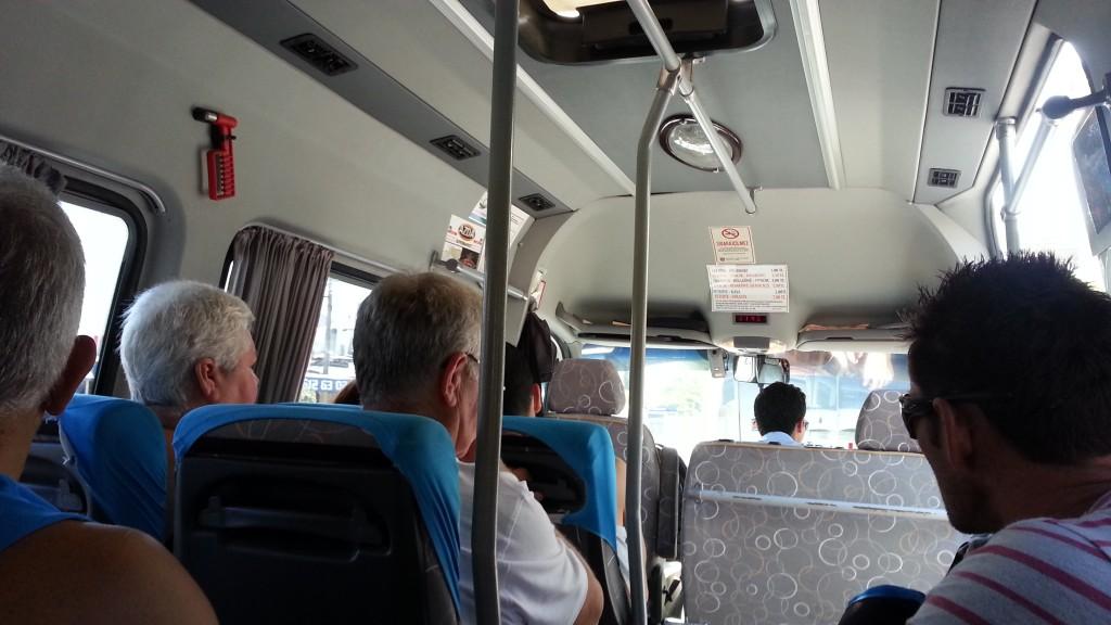 Dolmus Bus, Oludeniz, Hisaronu, Fethiye, Turkey