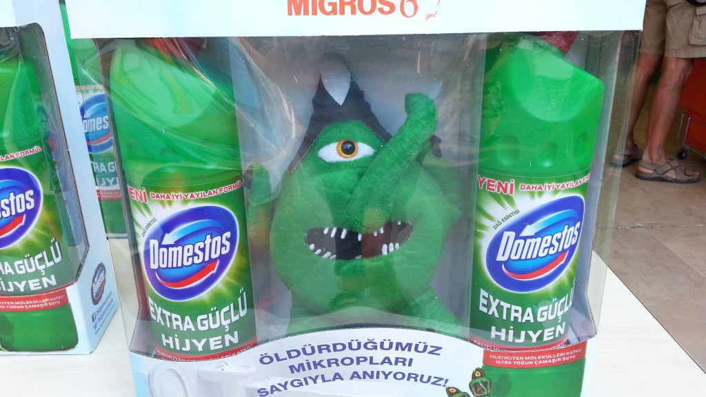 Domestos toy, Turkey