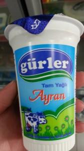 Gurler Ayran drink, Turkey