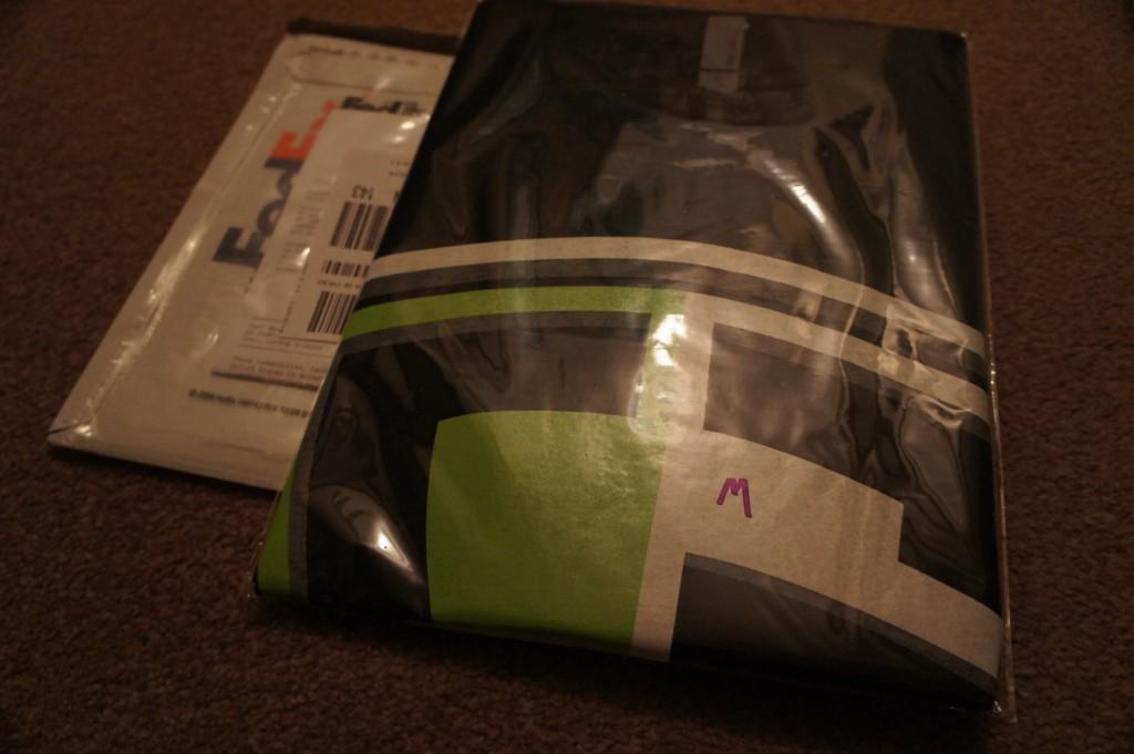 CodeGuard t shirt FedEx envelope